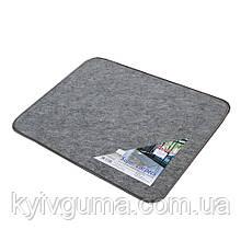"""Килимок """"Soft"""" сірий 45х60 (Коврик """"Soft plus"""" серый 45х60)"""
