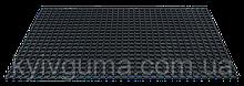 Ковер резиновый Киевгума Maxi + квадратная сота сплошная 150х100х1.6 см (4823060813238)