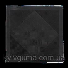 Ковры резиновые бытовые (ЧЕРНЫЙ 500х500х5 мм.)