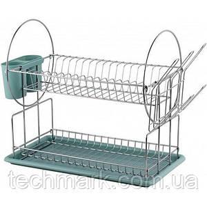 Сушилка для посуды двухуровневая MAXMARK MK-D2201