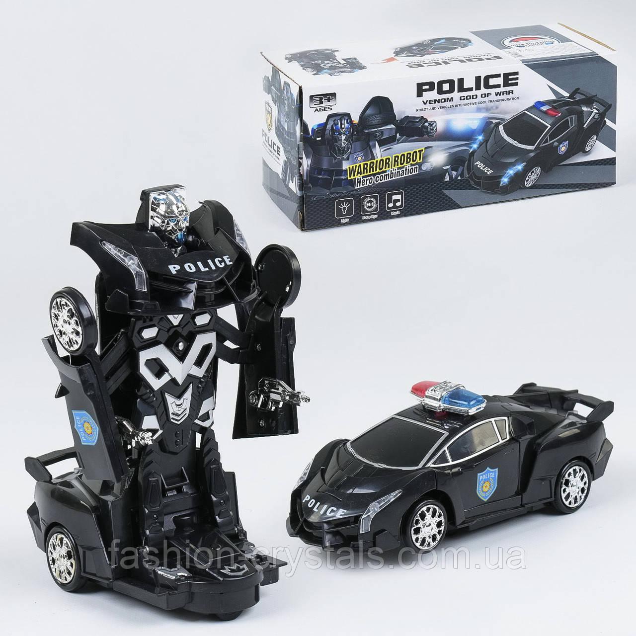 Машина трансформер полиция