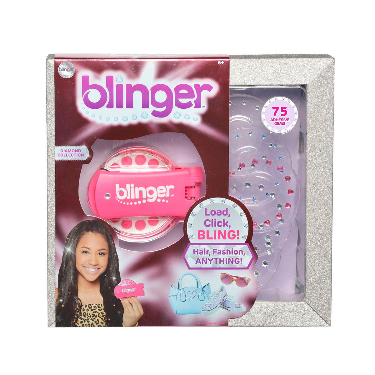 Стайлер Для Украшения Стразами Blinger – Розовый
