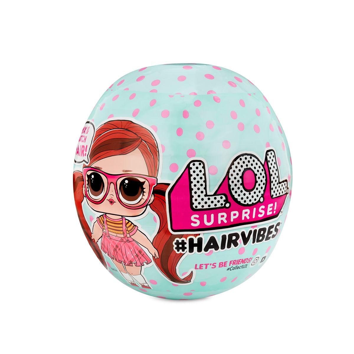 """Игровой набор с куклой L.O.L SURPRISE!.S6 W1 серии """"Hairvibes"""" - МОДНЫЕ ПРИЧЕСКИ"""