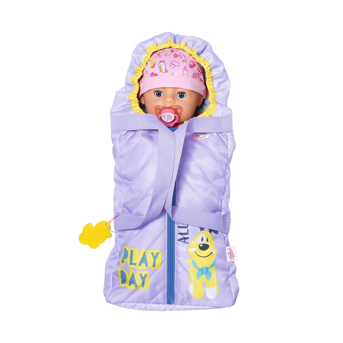 Люлька-переноска для куклы BABY born 2 в 1 - Детские сны