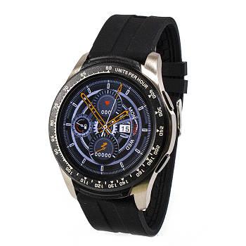 Смарт-часы B16 Silver Black Band