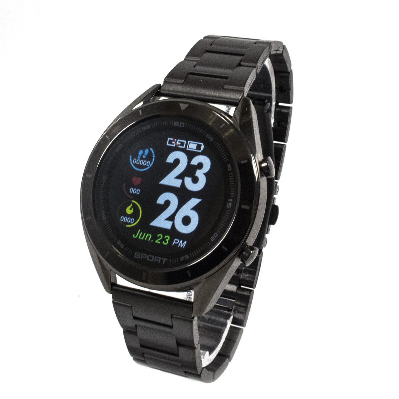 Смарт-часы NO.1 DT99 Metal Band Black