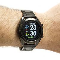 Смарт-часы NO.1 DT99 Metal Band Black, фото 2