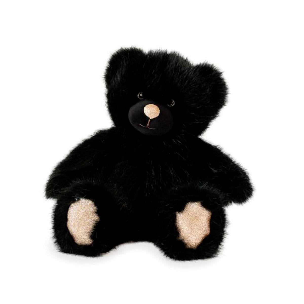 Мягкая игрушка Doudou – Медвежонок черный (40 cm)