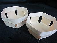 Корзинка упаковачная из лыка, д-10 см, 8\6 (цена за 1 шт. + 2 гр.)