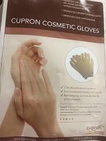Перчатки омолаживающие,антибактериальные ,многоразовые из ткани с медью Cupron