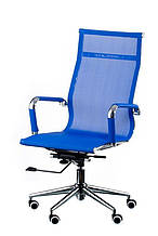 Кресло офисное Special4You Solano Mesh Blue (E4916)