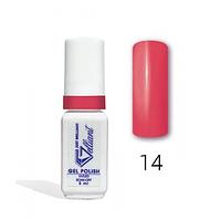 "Гель-Лак №014 True Pink (ярко-розовый) UV/LED ""Gelliant"" 5 мл."