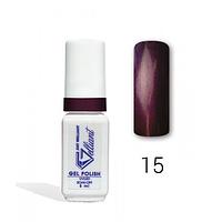 """Гель-Лак №015 Purple Cream (кремово-сиреневый) UV/LED """"Gelliant"""" 5 мл."""