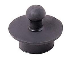 Пробка резиновая черная для ванны 10шт. / Уп.