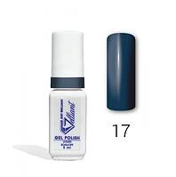 "Гель-Лак №017 Dark Blue (темно-синий) UV/LED ""Gelliant"" 5 мл."