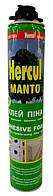 Пистолетная монтажная пена-клей Hercul MANTO