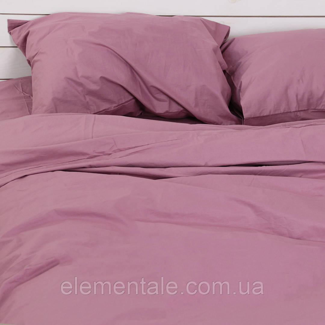Комплект постельного белья Хлопковые Традиции семейный 200x220 Фиолетовый