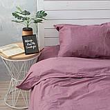 Комплект постельного белья Хлопковые Традиции семейный 200x220 Фиолетовый, фото 2