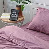Комплект постельного белья Хлопковые Традиции семейный 200x220 Фиолетовый, фото 3