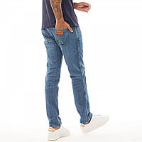 Джинсы Wrangler Larston Midweight Slim Fit The Hero Denim Blue - Оригинал
