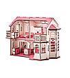 Кукольный дом 57х27х35 с гаражом и подсветкой В014, фото 3