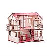 Кукольный дом 57х27х35 с гаражом и подсветкой В014, фото 4