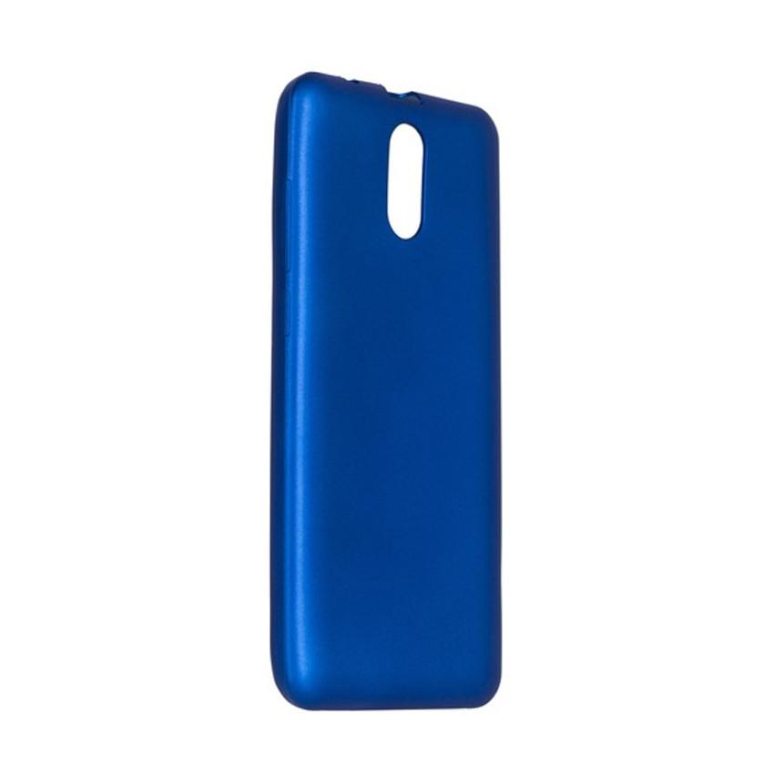 Чехол накладка Ergo для Ergo V550 Vision - Shiny Blue