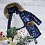 Модное зимнее детское пальто на девочку, фото 3