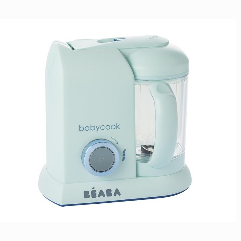 Пароварка-блендер Beaba Babycook Limited Edition aquamarine, арт. 912606