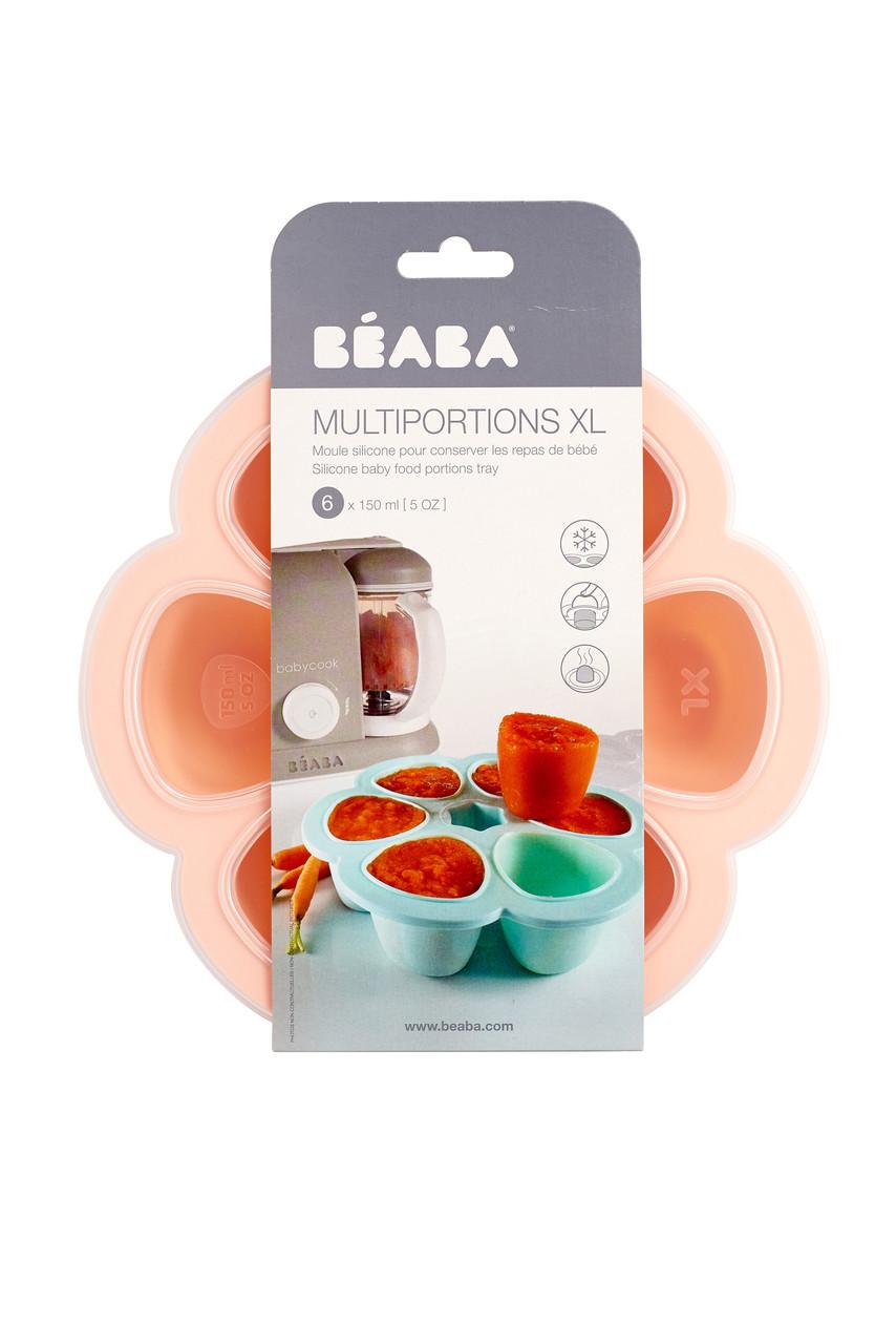 Силиконовый многопорционный контейнер Beaba 150 ml pink, арт. 912615