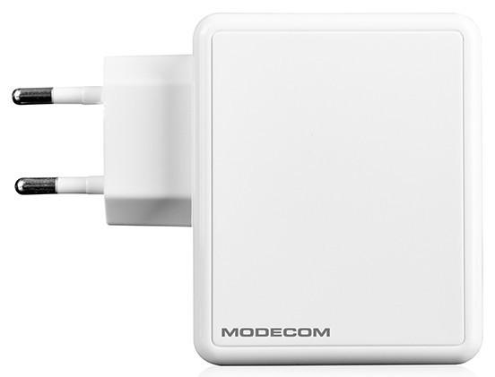Мережевий зарядний пристрій Modecom MC-45CU-01 (1USB, 2.4 A) White (ZT-MC-45CU-01)