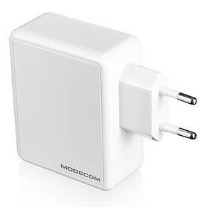 Сетевое зарядное устройство Modecom MC-45CU-01 (1USB, 2.4A) White (ZT-MC-45CU-01), фото 2