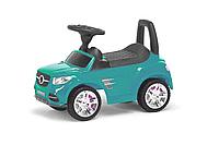Детская Машина-каталка-Толокар Colorplast отсек для игрушек (Бирюзовый)