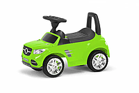 Детская Машина-каталка-Толокар Colorplast отсек для игрушек (Салатовый)