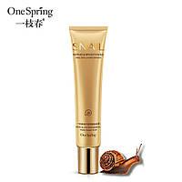 Омолаживающий крем для век с муцином улитки One Spring Snail Eye Cream