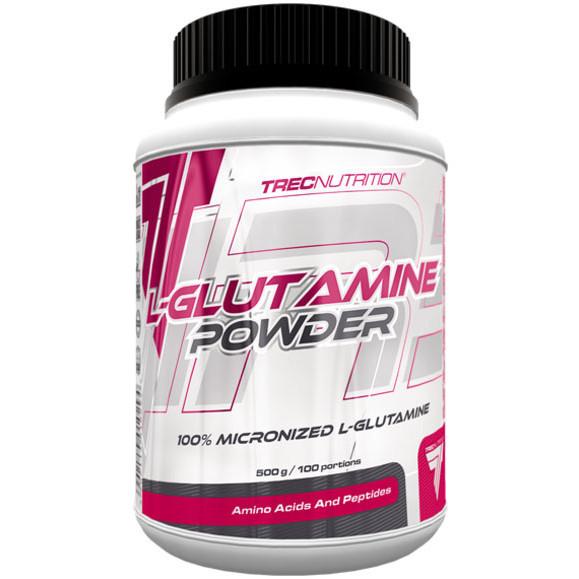 Аминокислота Trec Nutrition L-Glutamine Powder, 500 грамм