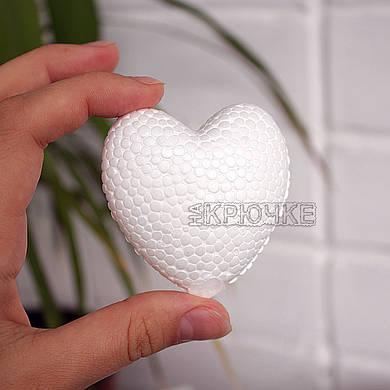 Сердце из пенопласта 6 см