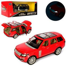 Машина AS-2293 АвтоСвіт,мет.,інерц.,1:24,відчин.двері,2 кольори,муз.,світло,бат.(таб.),кор.,29-12-15