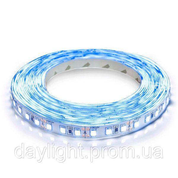 Светодиодная led лента 5 метров синий свет (9.6вт/м 60д 3528) ГАРАНТИЯ 12 мес.
