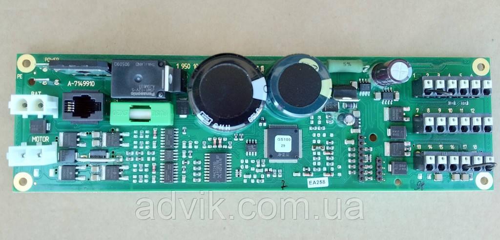 Плата управления блока электроники автоматических дверей G-U GS-100 (Германия)