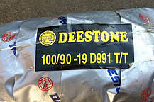 Покрышка 100/90-19 Deestone D-991 Cross, фото 3