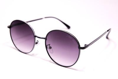 Жіночі сонцезахисні круглі окуляри в металевій оправі, градієнтні, Jimmy Choo