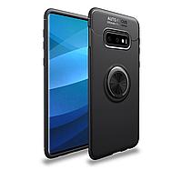 Тонкий бампер с кольцом AUTO FOCUS для Samsung Galaxy S10E SM-G970