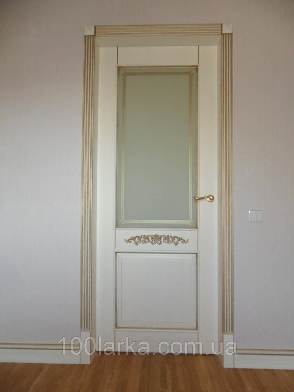 Двері дерев'яні міжкімнатні з ясена в Києві