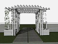 Дизайн-проект перголи туристичного комплексу «КНЯЖА ГОРА»