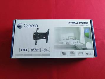 """Похиле кріплення для телевізора Opera PLN08-22T 13-42"""""""