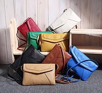 Женская шикарная кожаная стильная офисная повседневная сумка для роботы 8 цветов