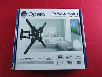 """Похило-поворотне кріплення для телевізора Opera UDA11-443 13-55"""""""