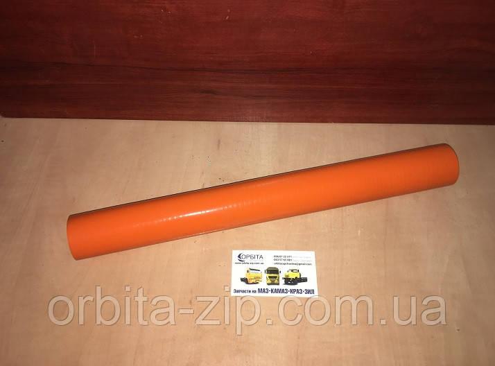 5336-1303010 Патрубок радиатора МАЗ верхний (42х52х420мм) (силикон)