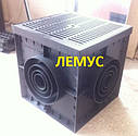 Колір-чорний пластиковий 300х300мм, фото 6